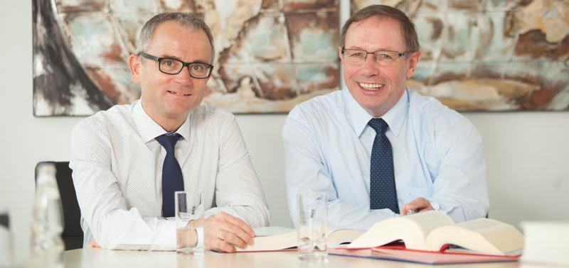 Volker Nolting und Hubert Klose, geschäftsführende Partner der Zahlmann Klose Nolting Steuerberatungsgesellschaft