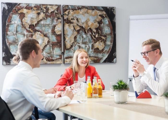 Jannik Beich, Denise Horstmeier und Henning Ludewig