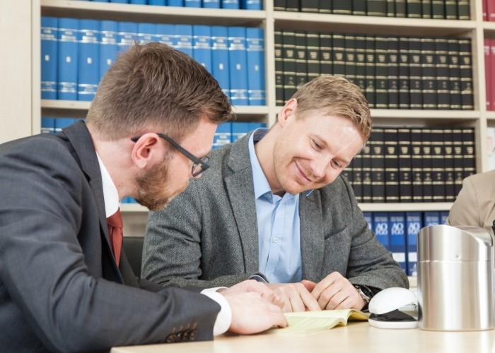 Michael Klose und Daniel Brandhorst