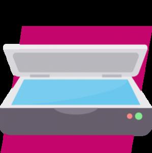 Digitalisierung der Rechnungen und Upload bei Unternehmen Online