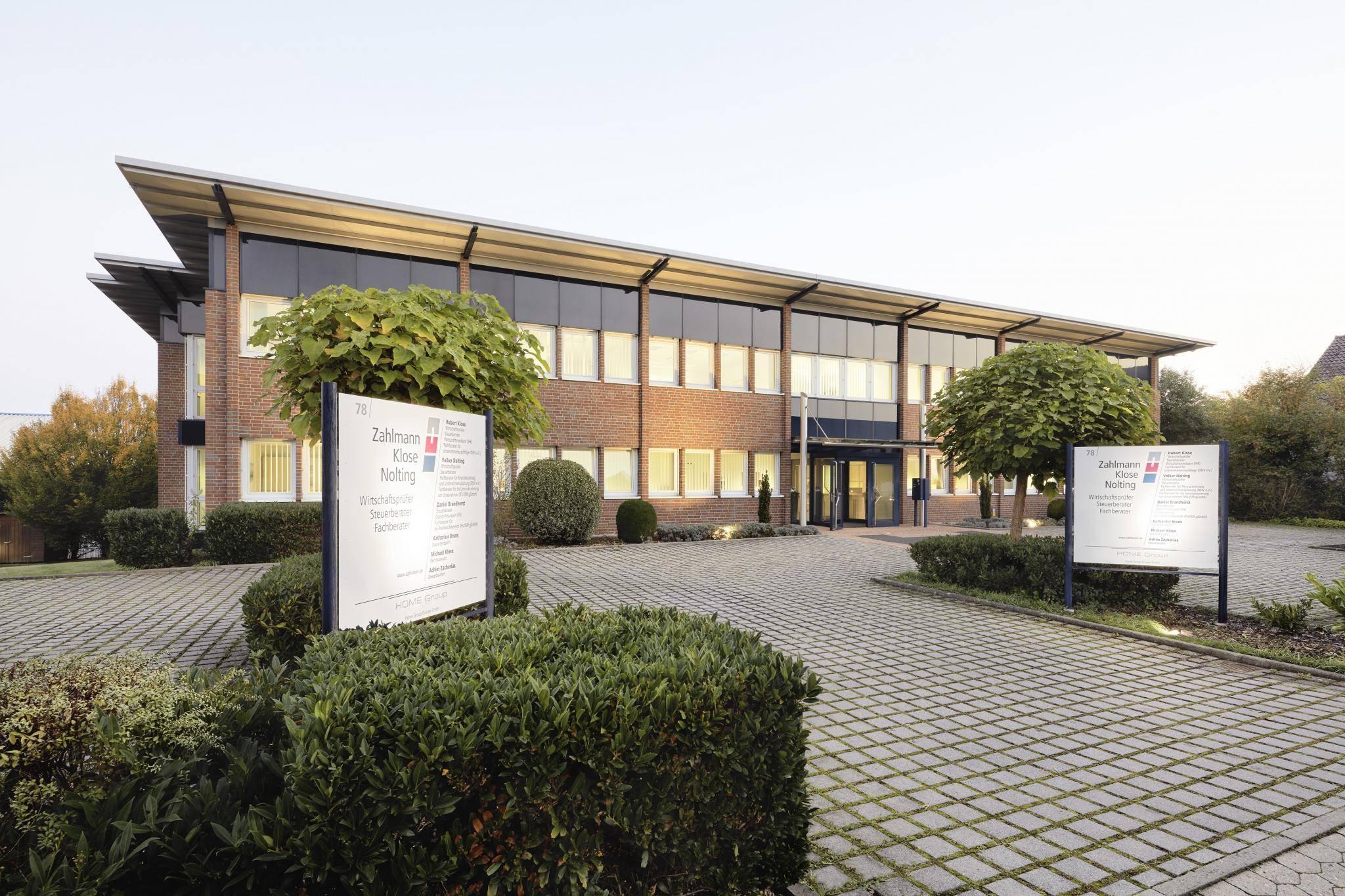 Firmengebäude Zahlmann Klose Nolting